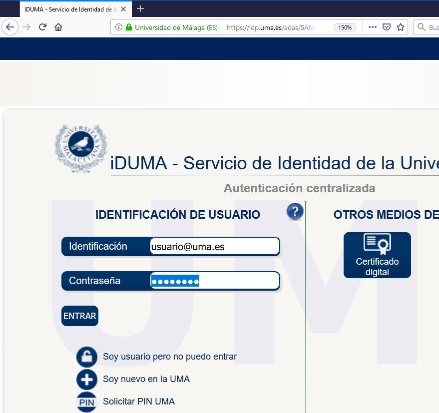 iDUMA - Identificación