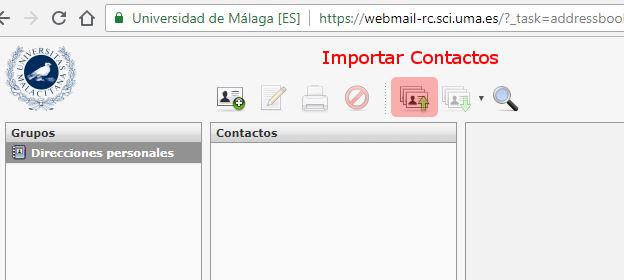 Imagen - RoundCube - Contactos