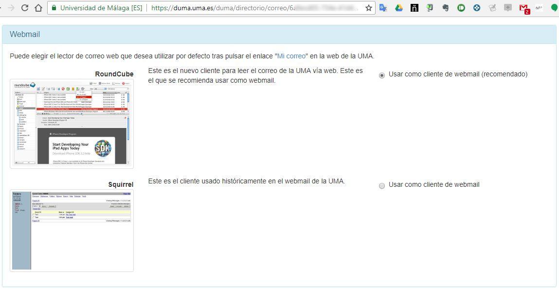 Imagen - DUMA - Webmail
